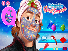 Kristoff Christmas Makeover