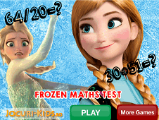 Frozen Math Test