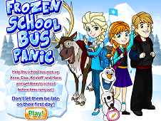 Frozen School Bus Panic