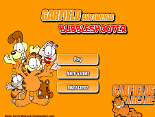 Garfield And Friends Bubbleshooter