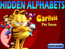 Garfield Hidden Alphabets
