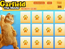 Garfield The Movie Memory Game
