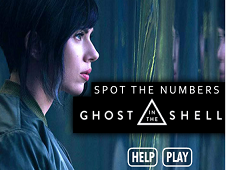 Ghost in the Shell Spot the Numbers