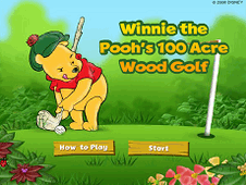 Golf with Winnie the Pooh