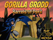 Gorilla Grood Barrels of Peril