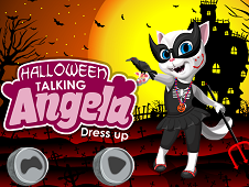 Halloween Angela Dress up