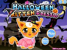 Halloween Kitten DressUp