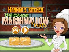 Hannas Kitchen Halloween MarshMallow Treats