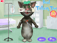 Heal Talking Tom