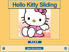 Hello Kitty Sliding