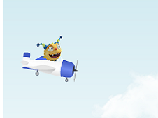 Henry Hugglemonster Flying