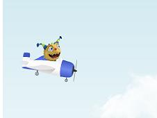 Henry Hugglemonster Flying