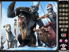 Hidden Numbers Ice Age 4