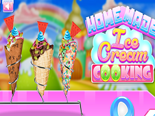 Home Made Ice Cream Cooking
