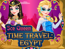 Ice Queen Time Travel Egypt