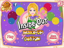 Inside Out Makeup Design