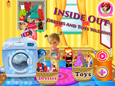 Inside Out Washing Day