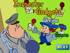 Inspector Gadget Online Coloring
