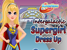 Intergalactic Supergirl Dress Up