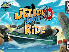 Jet Boat 3D Survival Ride