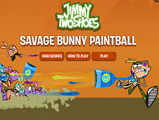 Jimmy Two Shoes Savage Bunny Paintball