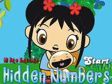 Kai Lan Hidden Numbers