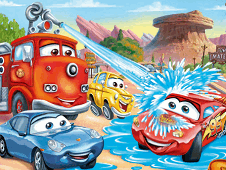 Lightning Mcqueen And Friends Puzzle