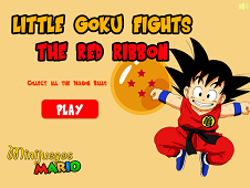 Little Goku Fights the Red Ribbon
