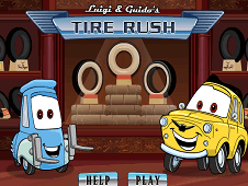 Luigi And Guido Tire Rush