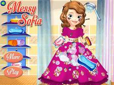 Messy Sofia