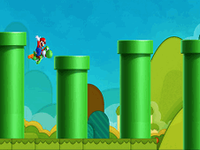 Mario And Yoshy Flappy Adventure