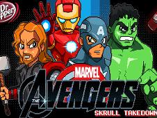 Marvel Avengers Skrull Takedown
