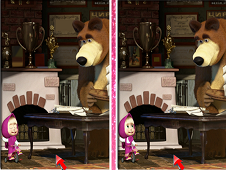 Masha and the Bear 6 Diff