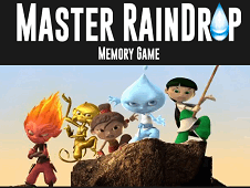 Master Raindrop Memory Game