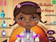 McStuffins Real Surgery