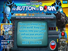 MegaMind The Button on Doom