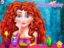 Merida Real Princess Makeover