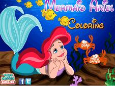 Mermaid Ariel Coloring