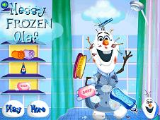 Messy Olaf