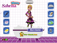 Messy Sabrina