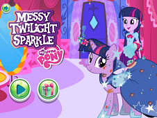 Messy Twilight Sparkle