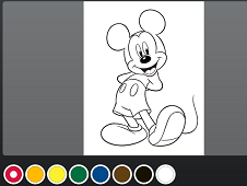 Mickey Mouse Coloring Online