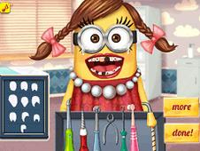 Girl Minion Dentist
