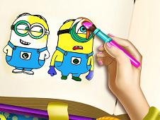 Minions Coloring Book