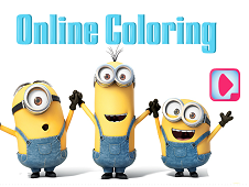 Minions Online Coloring