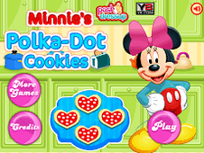 Minnies Polka Dot Cookie