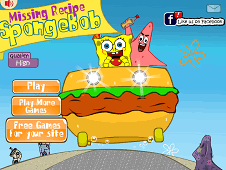 Missing Recipe Spongebob