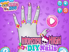 Monster High DIY Nails