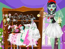 Monster High Frankie Stein Bride
