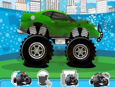 Monster Truck Wash And Repair